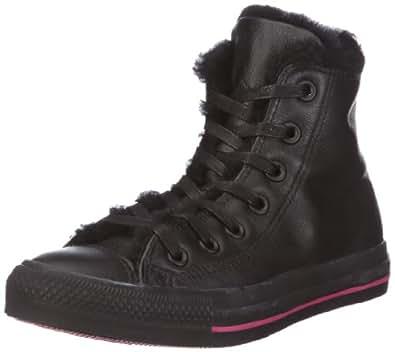 Converse Chuck Taylor SPEC HI 122439, Damen Sneaker, Schwarz (black/rasp rose), EU 38 (US 5.5)