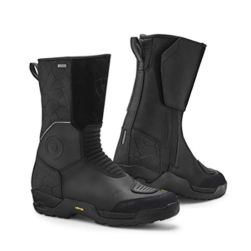 FBR030 - 0010-43 - Rev It Trail H2O Motorcycle Boots 43 Black (UK 9)