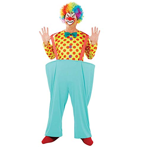 Fun Shack Costume, Circus Clown, m Uomo