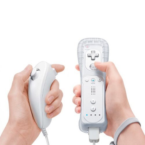 eastvita® Nunchuk & Remote Game Controller Bundle für Nintendo WII