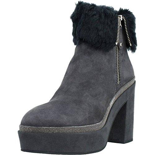 ELVIO ZANON Bottines - Boots, Couleur Gris, Marque, Modã¨Le Bottines - Boots G5501N Gris