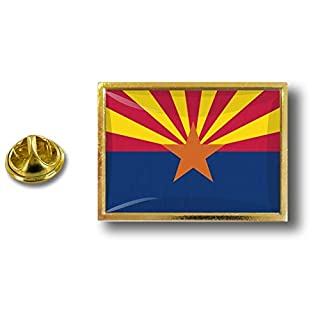 Akacha pins pin's Flag National Badge Metal Lapel hat Button Vest USA Arizona