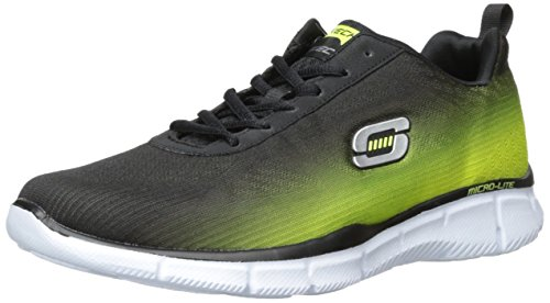 Skechers Herren Equalizer This Way Low-Top Schwarz (Bklm)