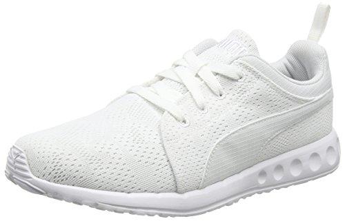 Puma Carson Runner Camo Mesh, Sneakers Unisex Adulto Bianco (White/White 08)