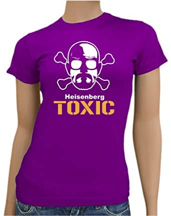 Touchlines - Heisenberg Toxic LADIES T-Shirt Black/Silver, XXL