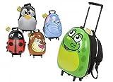Ei Form glänzend Animal Hartschale Kinder Trolley Fall