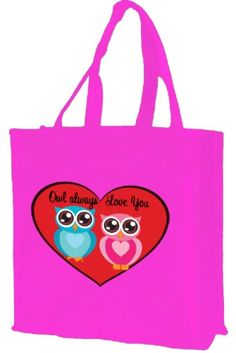owl-aways-love-you-cotton-shopping-bag-pink