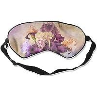 Sleep Eye Mask Purple Flowers Lightweight Soft Blindfold Adjustable Head Strap Eyeshade Travel Eyepatch E3 preisvergleich bei billige-tabletten.eu