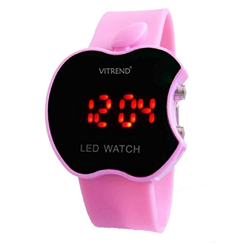 Vitrend Digital Black Dial Kids Watch-Tctm