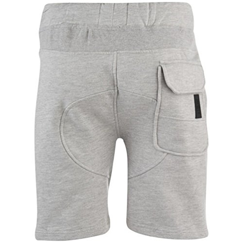 UKMiniMarket -  Pantaloncini  - Uomo Grey