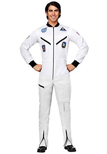 Astronaut Plus Erwachsenen Kostüm Für - Erwachsene Plus Size White Astronaut Overall Kostüm - 2 X