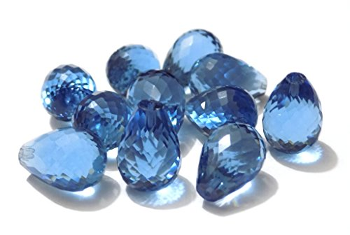 Sayra Gems Blue Tanzanite Hydro Quartz Gem Stone With Size (14*16)