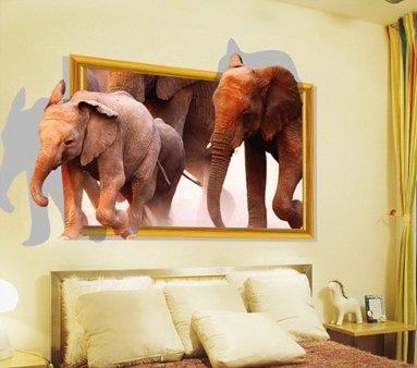 ALLDOLWEGE Los dormitorios son tridimensionales de papel de pared carteles de arte...
