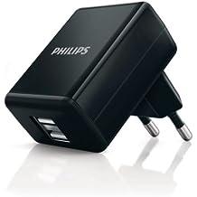 Philips DLP2209/12 Caricatore USB a Parete Doppio