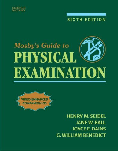 Mosby's Guide to Physical Examination by Henry M. Seidel MD (2006-04-20)