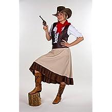 Damen Kostüm Western Girl Cowgirl Karneval Fasching