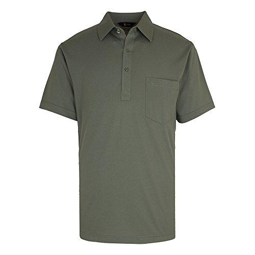 GabicciHerren Poloshirt, Einfarbig Grün - Sage