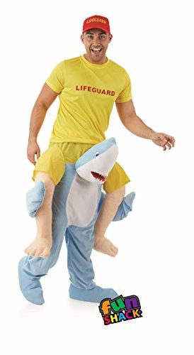 Herren Oder Damen Spaß Shack Hai Fisch Hebe -