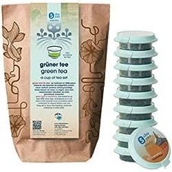 Shuyao Grüner Tee Set 10x naturreiner Tee mit Matcha Tee (30g)