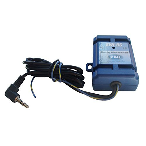PAC SWI-RC Lenkradfernbedienungsadapter (LFB-Adapter) für die Umrüstung auf Aftermarket-Radios von  JVC, Alpine, Clarion, Kenwood, Pioneer, Sony uvm. in 95% der seit 1990 gebauten Fahrzeuge kompatibel -