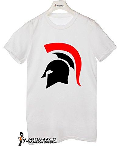 T-shirt humor elmo spartano, sparta, guerriero, gladiatore - tutte le taglie uomo donna maglietta by tshirteria