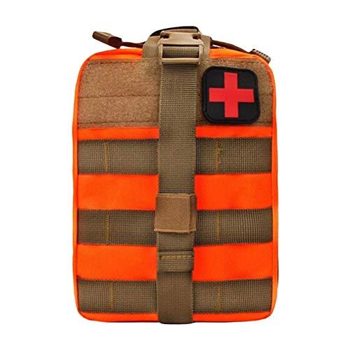 Ysoom Medizinische Erste Hilfe Tasche, Taktische MOLLE Tasche, IFAK Universal Lösung für Rettungssanitäter, Mehrzweck Hüfttasche für den Notfall -