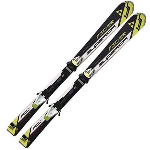 Fischer Ski RC4 Superior JR junior Rail Modell inkl. Bindung FJ7 AC Längen wählbar -