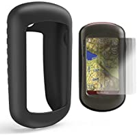 TUSITA Schutzhülle mit Displayschutzfolie für Garmin Oregon 200,300,400,400t, 400c, 400i, 450,450t, 550,550t Handheld-GPS-Navigator, Ersatz Silikon Skin Cover hülle Zubehör