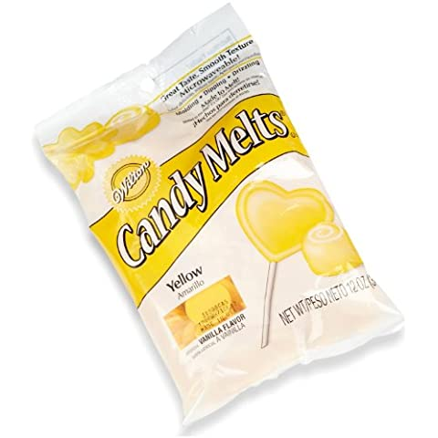Wilton Candy Wafer Melts, Yellow by Wilton