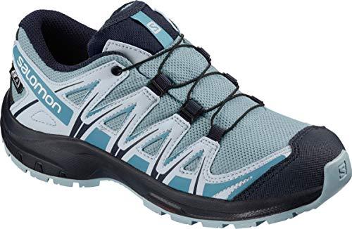 Salomon Kinder XA Pro 3D CSWP J, Trailrunning-Schuhe, Wasserdicht, blau (cashmere blue / illusion blue / cyan blue), Größe 39