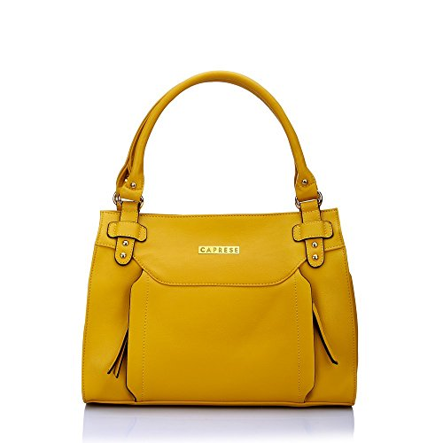 Caprese Beth Women\'s Satchel (Yellow)
