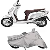 #7: Cmerchants SS-24-7 Universal Scooty Bike Body Cover (Aviator Silver)
