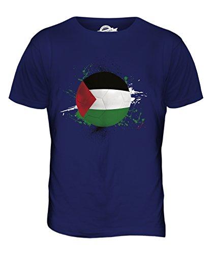 CandyMix Palestine Fußball Herren T Shirt Navy Blau