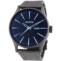 Nixon A3561427-00 - Orologio da polso uomo, acciaio inox, colore: argento - Gunmetal Moda