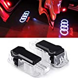 Inlink 2 x Cree Car Door Light Ghost Shadow Light Logo Projector