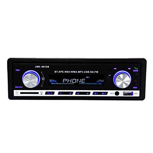 Busirde 1 Lärm-Auto-In-Dash-Stereo 20158 Fahrzeug-MP3-Player Bluetooth SD USB FM Radio-Empfänger-AUX DC 12V