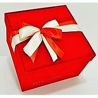 Scatola Regalo Quadrata Rossa ideale per colazione a domicilio, dolci e regali importanti