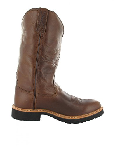 Twisted x boots bottes cOWBOY wORK pULL oN westernreitstiefel Marron - Brown (Damen)