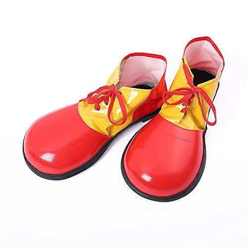 Weimoli Zapatos 1PC Payaso De Halloween Unisex Adultas