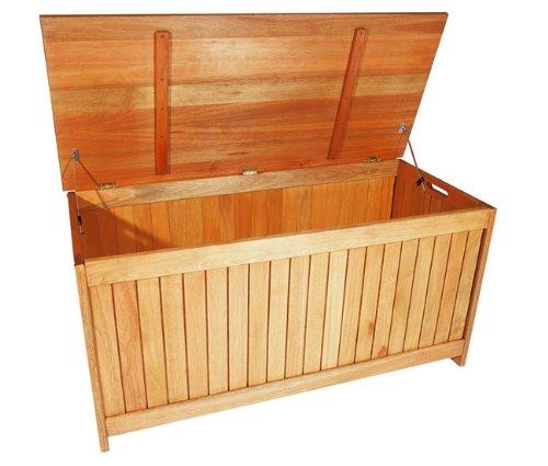 MERXX Garten-Aufbewahrungsbox aus Holz für Kissen