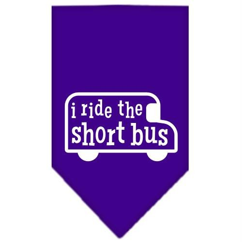 Mirage Pet Products I Ride The kurz Bus Screen Print Bandana -