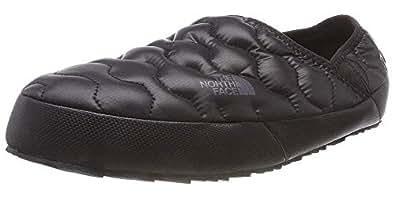 THE NORTH FACE Men's Thermoball Traction IV Mules, Black (Shiny Tnf Black/Dark Shadow Grey Yxa), 6 UK (39 EU)