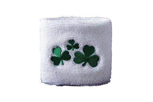 Flaggenfritze® Schweißband Irland Shamrock (Fußball Shamrock)