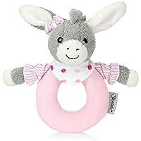 Sterntaler Greifling Emmi Girl, Alter: 0-36 Monate, Größe: 16 cm, Farbe: Grau/Rosa