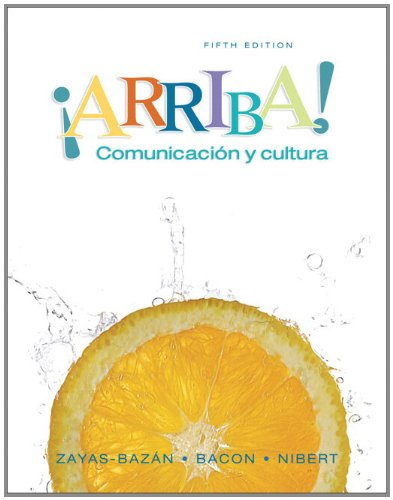 MyLab Spanish with Pearson eText -- Access Card -- for !Arriba!: Comunicacion y cultura (24-month access)