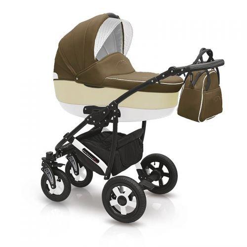 Camarelo 'Carera' 3in1 Kombikinderwagen - Kinderwagen - Buggy mit Babyschale - Nr. 11 - beige /...