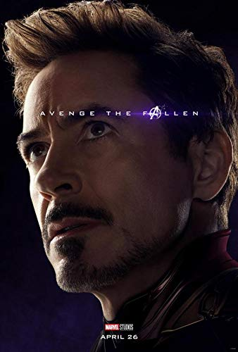The Avengers Endgame - Iron Man - U.S Movie Wall Poster Print - 30cm x 43cm / 12 Inches x 17 Inches -