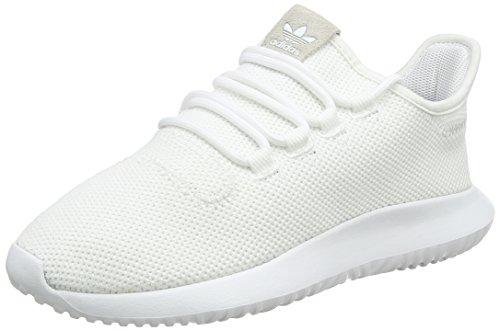 adidas Unisex-Kinder Tubular Shadow Sneaker, Weiß, 38 EU