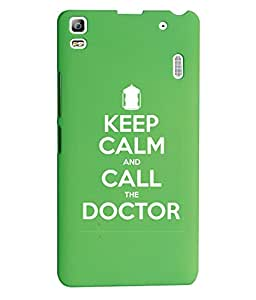 KolorEdge Back Cover For Lenovo A7000 - Green (1398-Ke15081LenovoA7000Green3D)