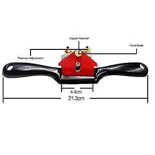 Toweter Einstellbare Holz Metal Blade Spoke Shave Flugzeug Holzbearbeitungswerkzeug